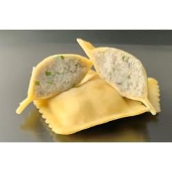 Raviolis truffes, crème...