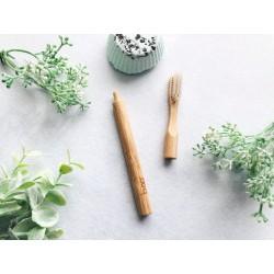 Brosse à dents bambou -...