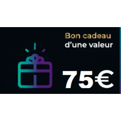 Bon cadeau Escape Game de 75€