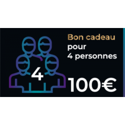 Bon cadeau Escape Game de 100€