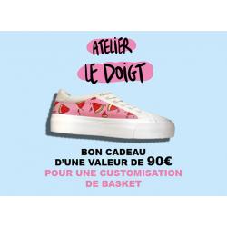 Bon cadeau pour sneakers...