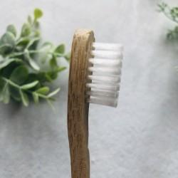 Brosse à dents en bambou -...